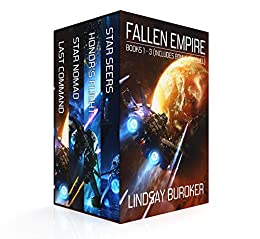 The Fallen Empire Collection (Books 1-3 and prequel) by [Buroker, Lindsay]