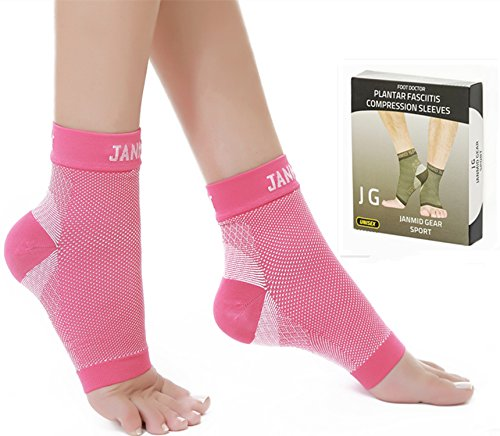 Plantar Fasciitis Socks Compression Foot Sleeves 1 Pair for Men & Women-Pain...