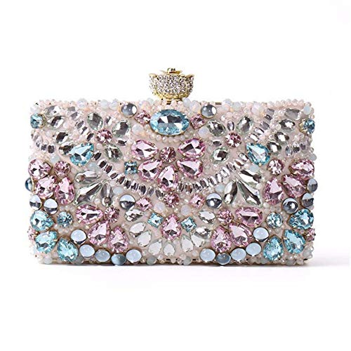 Perle Bag de pour Hand Demoiselle Mariage Gillter discothèques avec d'honneur d'honneur Bag Bride Mode Clutch Sac Party La À Chaîne Joy De Miss Demoiselle De Bandoulière TSv8pxn