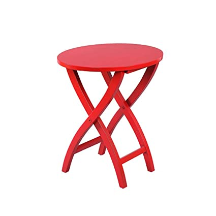 030f833c421bf Image Unavailable. Image not available for. Color  YONGLIANGgy American  Country Red Small Coffee Table ...