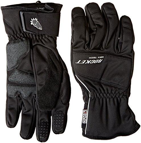 Joe Rocket Ballistic 7.0 Men's Cold Weather Motorcycle Riding Gloves (Black, Large)