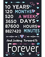 10th Wedding Anniversary: anniversary gifts for parents: Journal Gift for Her Wife Couple Valentines Gifts for Him Husband 10 Years Marriage Anniversary Notebook (Wedding Anniversary Gifts)