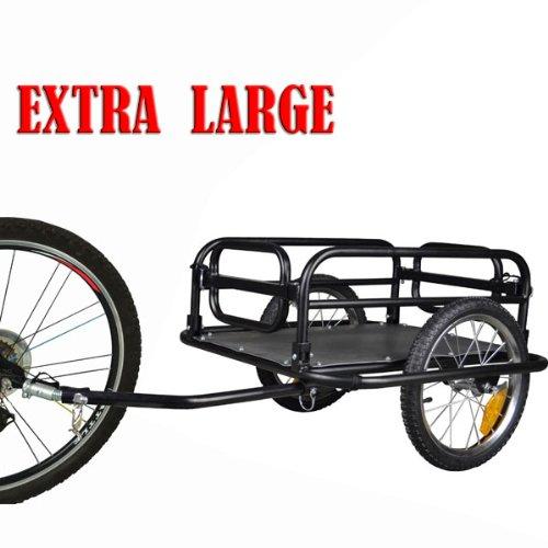 Veelar Foldable Bicycle Cargo Trailer Shopping/Utility Trailer-20300