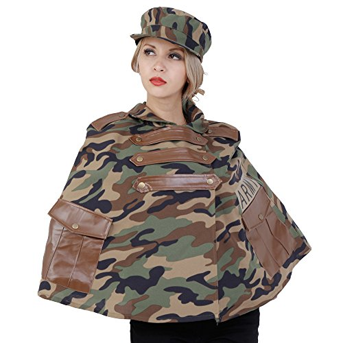 [Patymo Army Cape Costume -- One Size] (Army Of Darkness Costume)