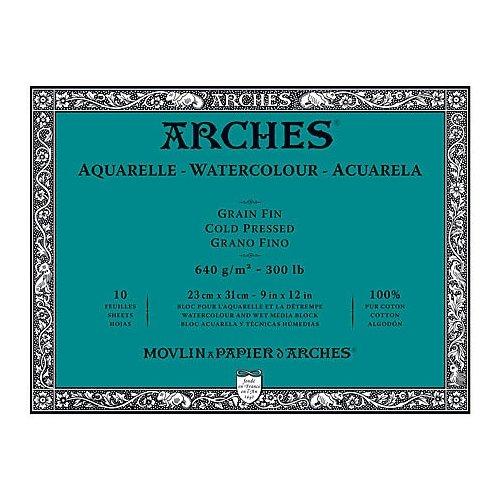 Arches Block 300Lb Cold Press 10X14 ()
