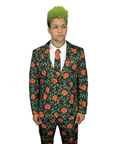 SuitMeister Pumpkin Leaves Suit