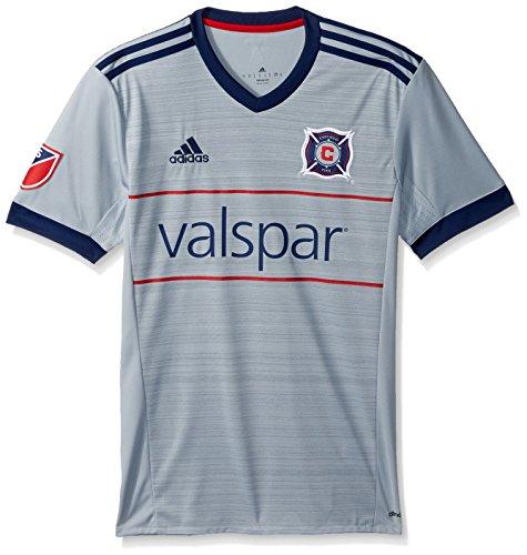 adidas MLS Chicago Fire Adult Men Replica Wordmark ()