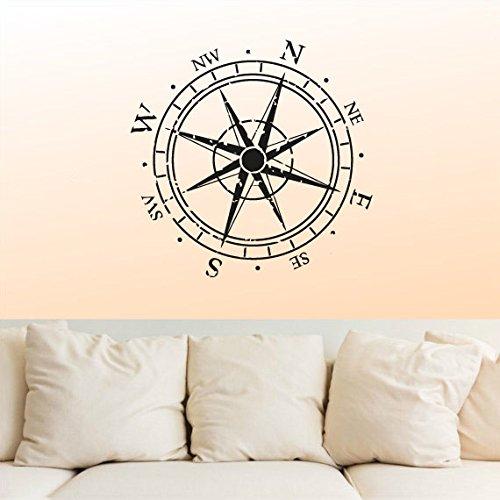 Sticker Vintage Compass Nautical Navigate product image