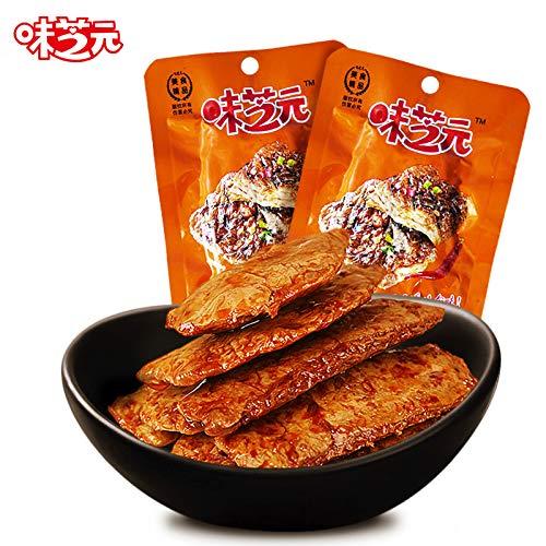 手撕素肉排 味芝元蛋白素肉26g20包湖南特产香辣豆干制品零食