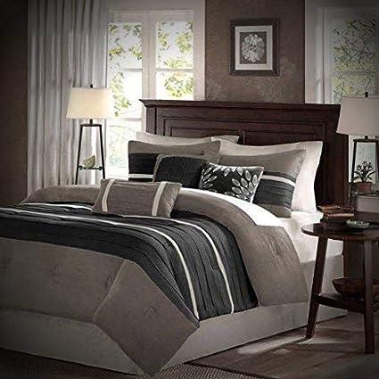 Amazon.com: Luxury Comforter Set King - 7 Piece - Best Bed ...