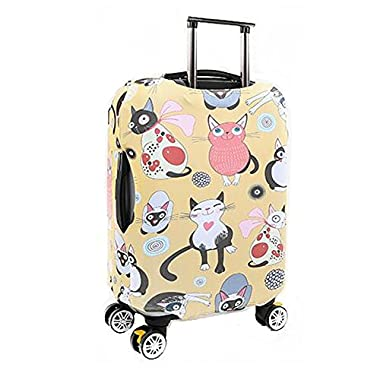 Meijunter Elastic Thicken Zipper Luggage Cover Suitcase Dust-proof Skin Protector 18-32