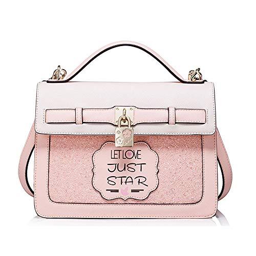 Femminile Portatile Pink Moda large color large Messenger Tracolla B Selvaggio Blue Ragazza Zaino A Coreana B Backpack Borsa Marea 5qwtpx7aP