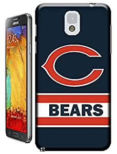 Beautyfayes NFL Chicago Bears Team Logo Red C TPU Case for Samsung Galaxy Note 3