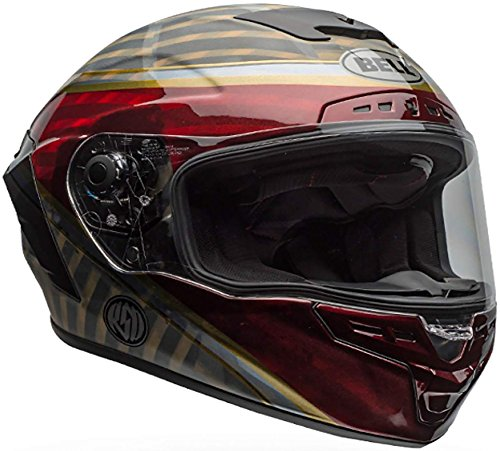 Bell Star MIPS Equipped Street Motorcycle Helmet (RSD Gloss/Matte Candy Red Blast, Large)