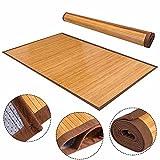 5' X 8' Floor Carpet, Bamboo Area Rug Floor Carpet