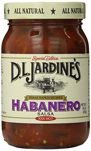(D.L. Jardine's Habanero Salsa, XXX Hot, 16 Ounce)