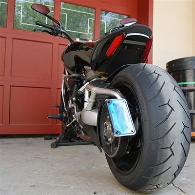 Ducati XDiavel Side Mount License Plate - New Rage Cycles by New Rage Cycles