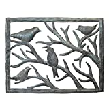 Vineworks Birds in the Window Haitian Fair Trade Metal Art