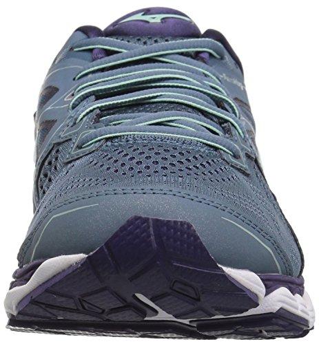 Purple Women's Sky Plumeria Running Wave Shoes Blue Mirage 2 Mizuno waq8dZpw