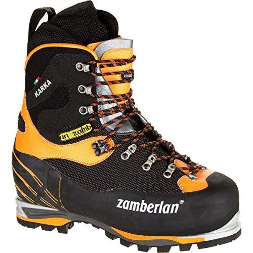 Zamberlan 6000 Karka Evo RR Mountaineering Boot Black/Orange, 45.5 (Alpine Boots Mountaineering)