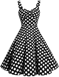 amazon 18 cocktail dresses clothing shoes jewelry Inexpensive Posters 1920 S 1950s retro audrey swing pinup rockabilly dress pleated vintage dress