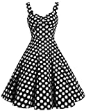 Search : DRESSTELLS 1950s Retro Audrey Swing Pinup Rockabilly Dress Pleated Vintage Dress