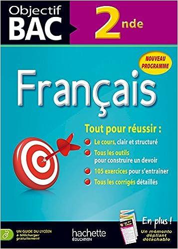 Objectif Bac Francais 2de Amazon Fr Isabelle De Lisle