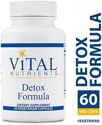 Vital Nutrients - Detox Formula - Specially Designed Formula for Liver and Detoxification Support - 60 Capsules per Bottle