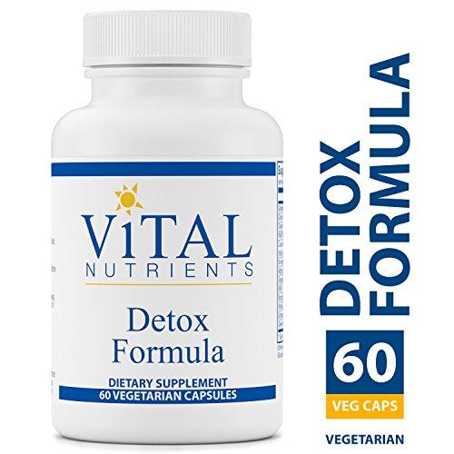 Vital Nutrients - Detox Formula - Specially Designed Formula for Liver and Detoxification Support - 60 Capsules per Bottle (Vital Nutrients Glutamine Powder)