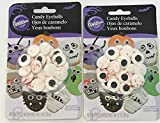 Wilton Red Vein Candy Eyeballs Cookie, Cake and Cupcake Halloween Decorations
