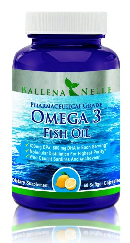Omega 3 huile de poisson:
