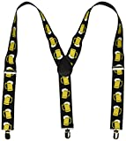 Kitchen & Housewares : Beer Mug Suspenders (adjustable) Party Accessory  (1 count) (1/Pkg)