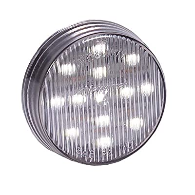 "Maxxima M11300WCL 13 LED 2.5"" Round White Interior Courtesy Light: Automotive"