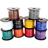 14 Gauge CCA Automotive Primary Wire Combo Pack   100 ft per Roll   Available in 4, 6 & 10 Rolls Color Bundle