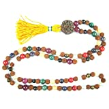 Rudraksha Mala Beads Nine Planets Navgraha Prayer Yoga Jewelry Empowers Good Effects