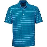 PGA Mens Protek Micro Pique Stripe Polo