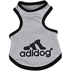 YAAGLE Summer Pet Mesh Cool Breathable Vest Sweatshirt Clothes Costume Apparel for Small Dog Puppy Cat