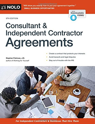 Consultant Independent Contractor Agreements Stephen Fishman Jd