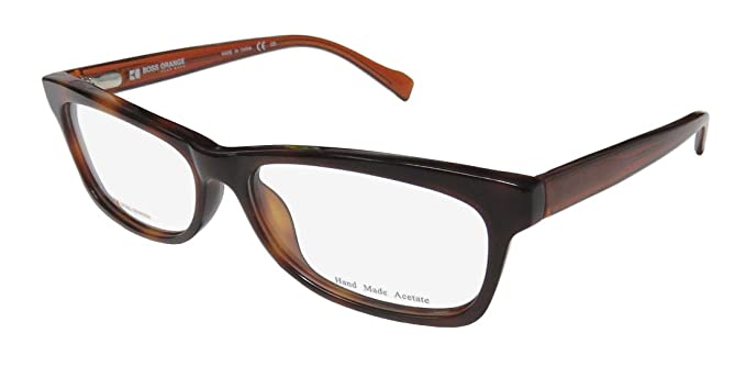 1101589677 Amazon.com  BOSS Hugo Boss ORANGE Eyeglasses 0076 0S2G Havana Beige ...
