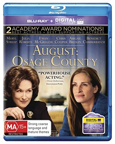 August - Osage County [Blu-ray + Ultra Violet] [NON-USA Format / Region B Import - Australia]