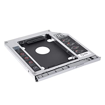 DEEPFOX 2ª HDD SSD Disco Duro Caddy, 2.5 Pulgadas SATA a SATA Case ...