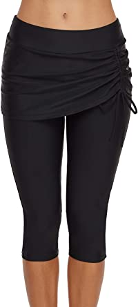 Amazon Com Auremore Tankini Corto De Cintura Alta Para Mujer Tallas S Xxxl Clothing