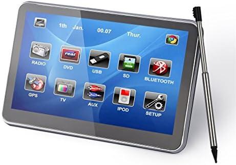 Leshp Navegador GPS para el coche multilingüe, pantalla capacitiva de 5 pulgadas (12,7 cm), incluye mapas de 45 países europeos con actualizaciones ...