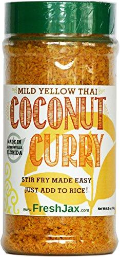 FreshJax Gourmet Thai Coconut Curry Yellow Mild Large 6.5 oz ()