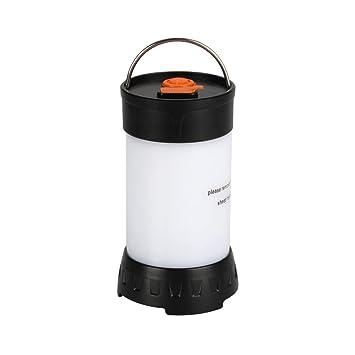 Ouesen LED Linterna Camping Portátil, Magnético, plegable y impermeable para Exterior y Tienda,
