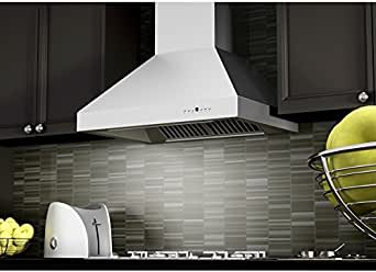 Amazon Com Zline 36 In Professional Wall Mount Range Hood In Stainless Steel 697 36 Appliances