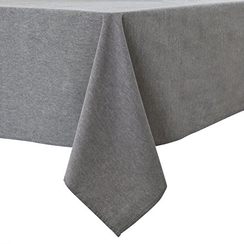 Lewing Cotton Rectangle Tablecloth Cover for Wedding Recepti