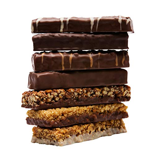 WonderSlim High Protein Meal Replacement Bar - High Fiber, Kosher, Variety Pack - 3 Box Value-Pack (Save 5%) by WonderSlim (Image #3)