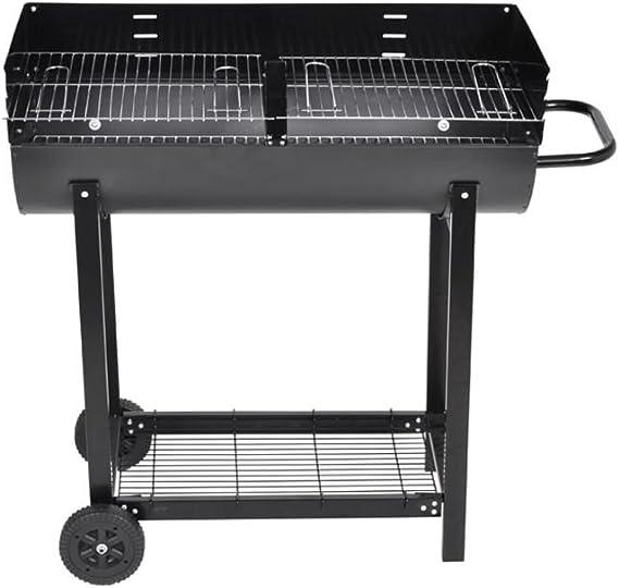 SKM Barbecue con Affumicatore Nevada XL Nero