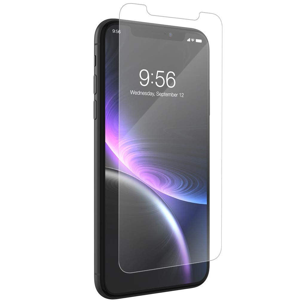 ZAGG InvisibleShield Glass+ Anti-Glare - Blocks Glare from your device - Made for Apple iPhone XR
